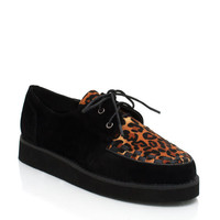 oxford-creepers BLACKLEO BLACKWHITE - GoJane.com