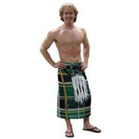 Amazon.com: Instant Kilt Beach Towel - Green: Kitchen & Dining