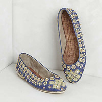 Anthropologie - Jeweled Ballet Flats
