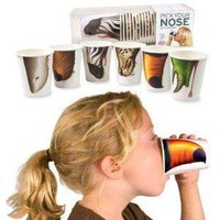 Amazon.com: Fred 9-Ounce Pick Your Nose Animal Paper Cups, Pack of 24: Kitchen &amp; Dining