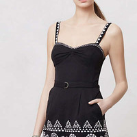 Anthropologie - Embroidered Tofino Romper