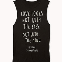 Shakespeare Muscle Tee | FOREVER 21 - 2059592735