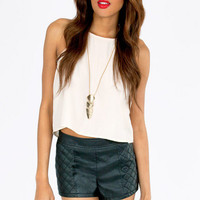 Quilt Guilty High Waist Shorts $42