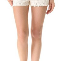 Juicy Couture Eyelet Loungewear Shorts | SHOPBOP