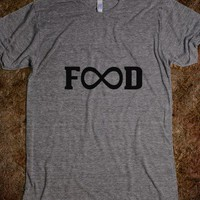 Infinite Food - Pizza & Tacos - Skreened T-shirts, Organic Shirts, Hoodies, Kids Tees, Baby One-Pieces and Tote Bags