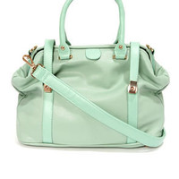 Sweet Doc-er Mint Green Handbag