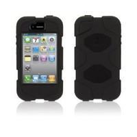 Griffin Survivor Case iPhone 4/4S BLACK+FREE SHIPPING