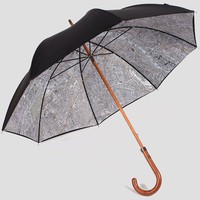 London Vintage Map Umbrella - $235