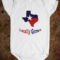 Locally Grown Baby One Piece