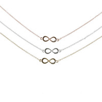 3 Pack Infinity Best Friends Necklaces