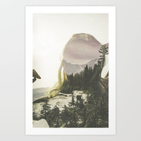 Within Nature Art Print by Man & Camera