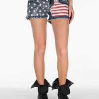 Miss Me Flag Stretch Short - Women's Shorts | Buckle