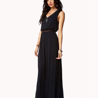 Essential Maxi Dress w/ Faux Leather Belt | FOREVER 21 - 2052198080