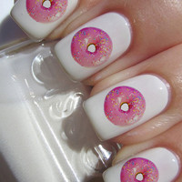 Donut Nail Decals 24 Ct.