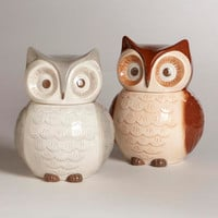 Owl Cookie Jars, Set of 2 | World Market
