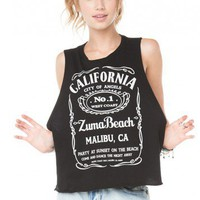 Brandy ♥ Melville |  Sadie Zuma Beach Tank - Graphic Tops - Clothing
