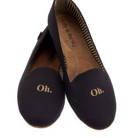 Loly in the Sky — Elvira black flats - Loly in the sky - Spring/Summer 2013 Collection
