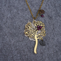 Singing On the Big Tree Long Necklace