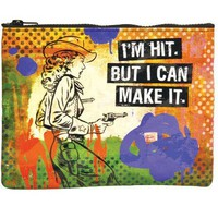 I&#x27;m Hit But I Can Make It Zipper Pouch
