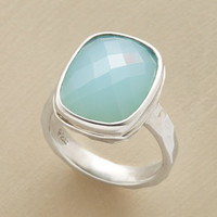 CHECKED CHALCEDONY RING         -                  Rings         -                  Jewelry                       | Robert Redford's Sundance Catalog