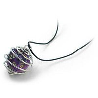 ThinkGeek :: d20 Spiral Necklace
