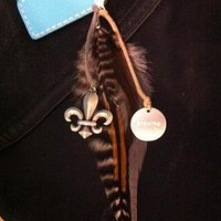Feather Key Chain