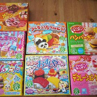 Kracie Happy Kitchen Popin' Cookin' DIY kit set of 7 from ebisu - JAPAN
