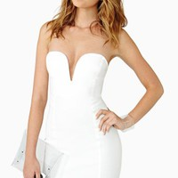 Helix Dress - White