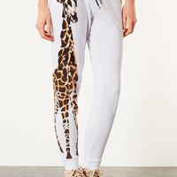 Giraffe Side Joggers - Pants - Clothing - Topshop USA