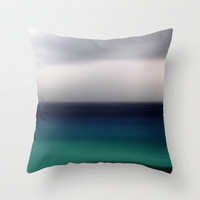 greennova Throw Pillow by artbylouis