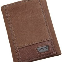 Levi's Mens Trifold Two-Tone Wallet:Amazon:Clothing