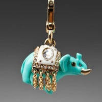 Juicy Couture Lucky Elephant Charm in Gold from REVOLVEclothing.com