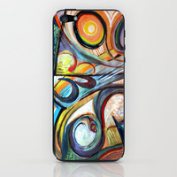 number 38 iPhone & iPod Skin by Marianna Tankelevich