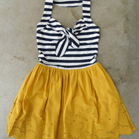 Ahoy, Sailor! Dress [4018] - $38.40 : Vintage Inspired Clothing & Affordable Summer Frocks, deloom | Modern. Vintage. Crafted.