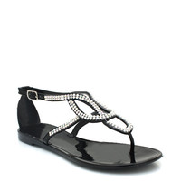 embellished-jelly-sandals BLACK CLEAR - GoJane.com