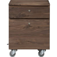 Sentry II Walnut Filing Cabinet