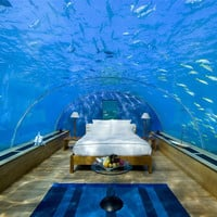 Breathtaking Underwater Bedroom in Maldives | Bored Panda