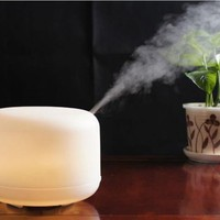 MIU ColorTM 500ml Aroma Diffuser Ultrasonic Humidifier LED Color Changing Lamp Light Ionizer:Amazon:Everything Else
