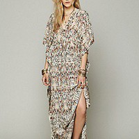 Lotta Stensson  Print Silk Kaftan Maxi at Free People Clothing Boutique