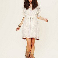 Zinke  Harvard Lace Robe at Free People Clothing Boutique