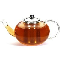 GROSCHE Milan Glass Teapot with Stainless Steel Infuser, 1250 ml (42 fl oz) capacity