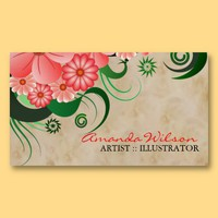 Artist Illustrator Business Card from Zazzle.com