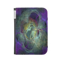 Flame Fractal Kind Case Kindle 3 Covers from Zazzle.com