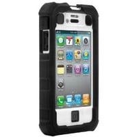 Ballistic iPhone 4 Hard Core (HC) Case - Black/White Apple iPhone 4 (Verizon) (AT&T) 4s