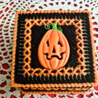 Great Pumpkin Trinket Box