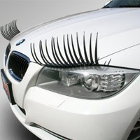 Carlashes Car Eyelashes Decorative Fashion Accessory:Amazon:Beauty