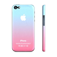 Pink & Blue Cotton Candy Ombre - Premium Slim Fit Iphone 5 Case