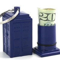 BBC America Shop - Doctor Who: Tardis Emergency Fund Keychain