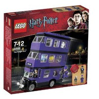 Amazon.com: LEGO Harry Potter The Knight Bus #4866: Toys & Games