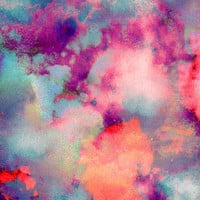 Untitled (Cloudscape) 20110625p Art Print by Tchmo
